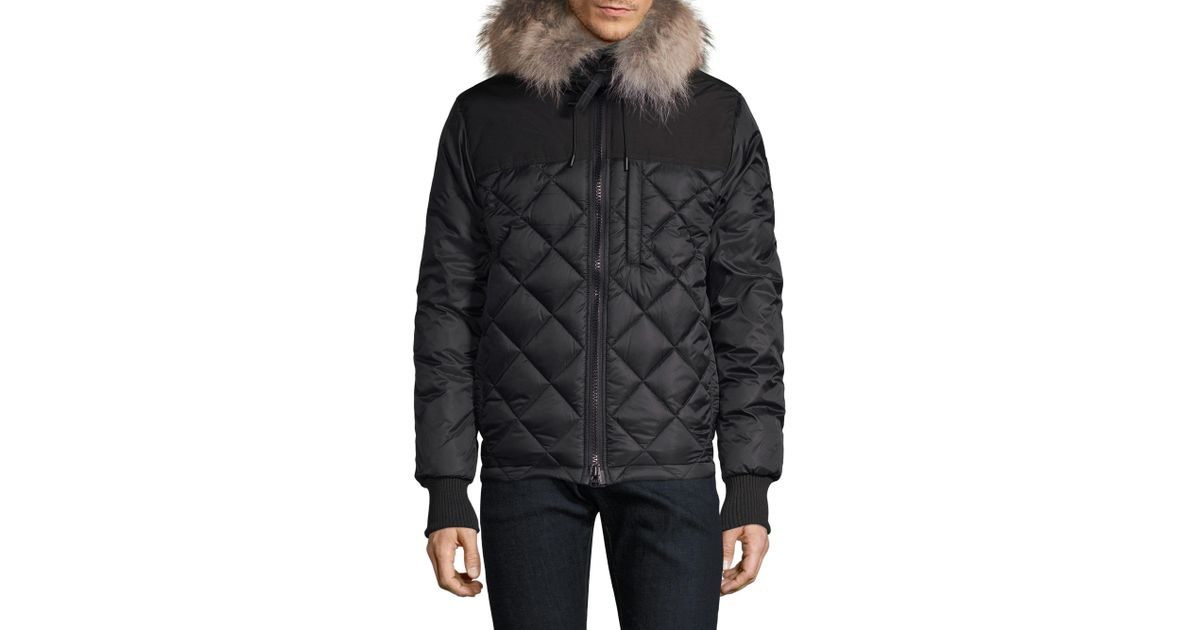 Pritchard Genuine Coyote Fur Trim Goose Down Parka