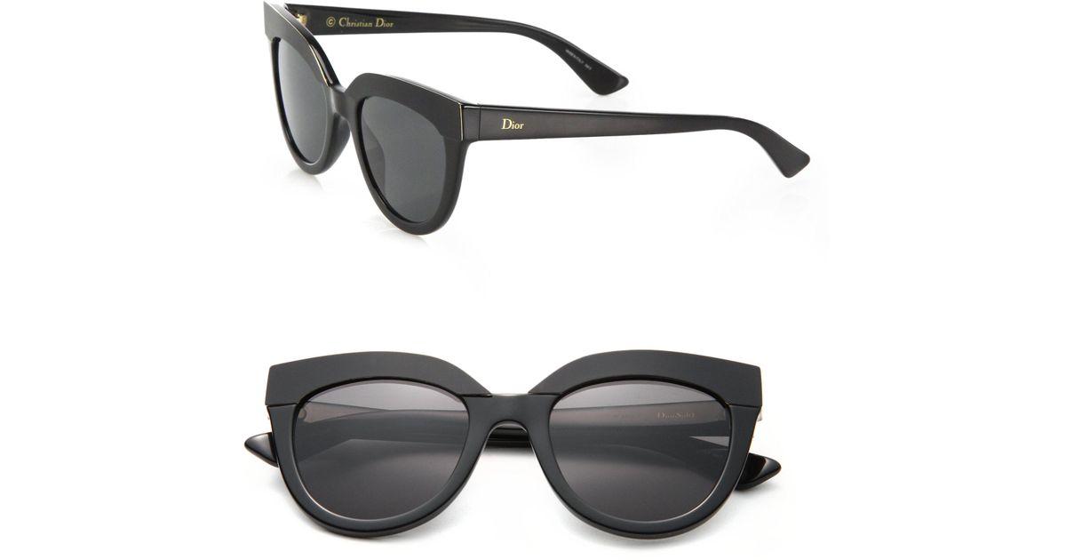 a8588d90e17 Dior 51mm Soft 1 Sunglasses in Black - Lyst