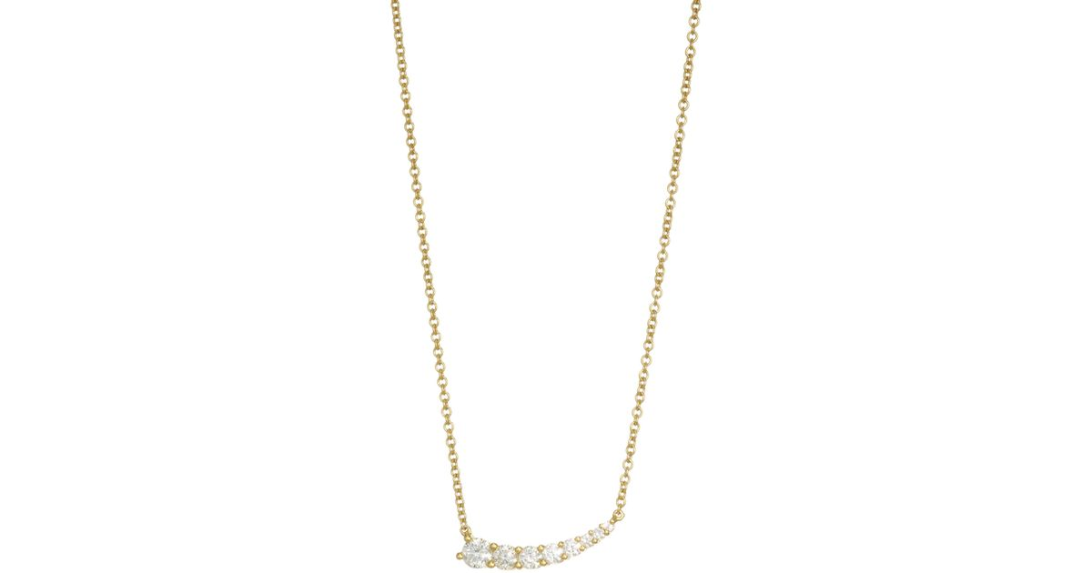 line necklace co diamond victoria tiffany graduated platinum