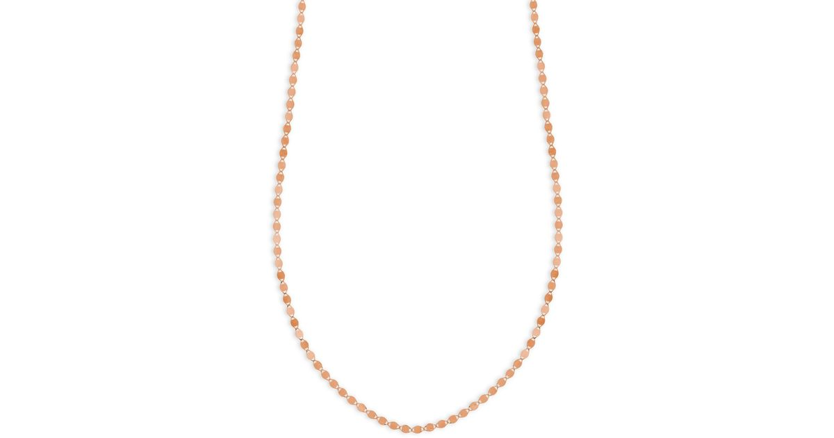 Lana Jewelry 14k Petite Nude Chain Choker Necklace In