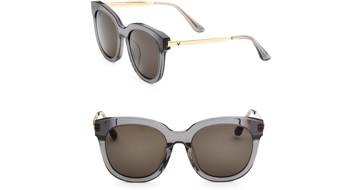 60288db43132 Gentle Monster Cuba Oversized Sunglasses in Black - Lyst