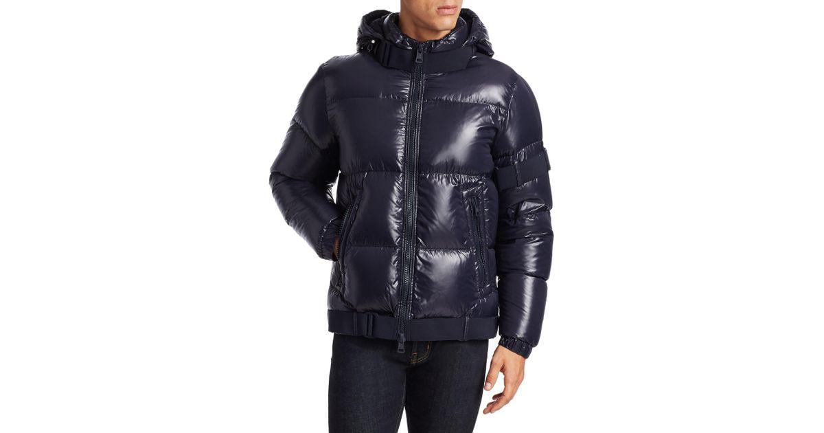 cc1450eda Moncler Blue C Brook Puffer Jacket for men