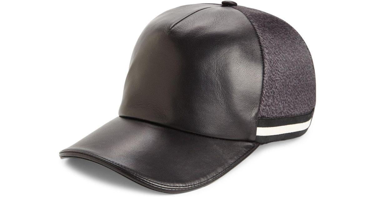 fd439b538 Bally Black Swiss Army Baseball Cap for men