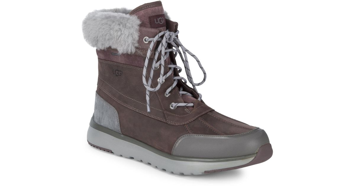 15fb43721d0 Ugg Brown Pure Eliasson Winter Boots for men