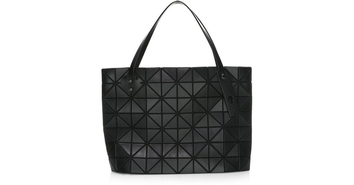 232df388e6 Lyst - Bao Bao Issey Miyake Women s Rock Matte Shoulder Bag - Light Grey in  Black