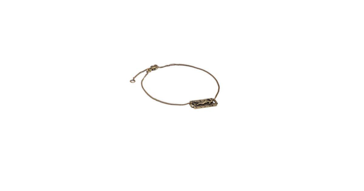 Saint Lau Razor Blade Bracelet For
