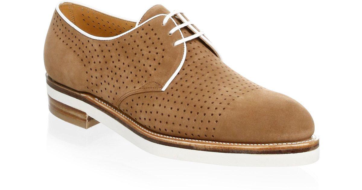 CORTHAY Bayou Brogue Derby Shoe hQCbGfS