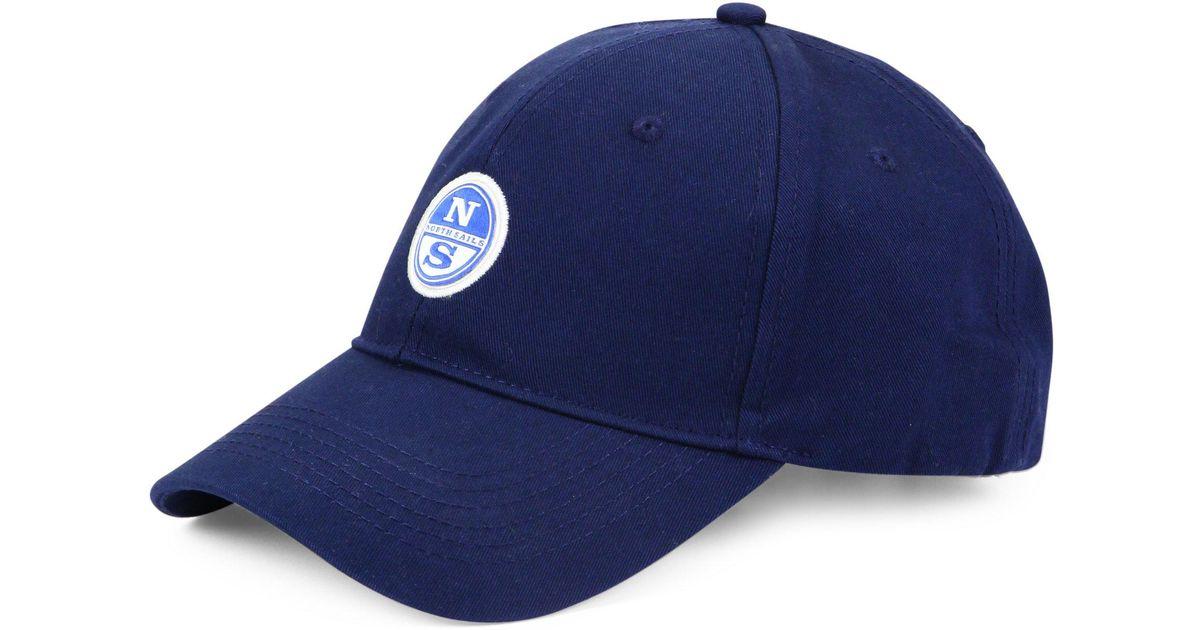 38ca8f0a25c Lyst - North Sails Slim-fit Twill Baseball Cotton Cap in Blue for Men