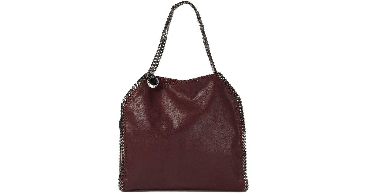 Lyst - Stella McCartney Falabella Baby Bella Shoulder Bag in Purple 1af76a8b216e8