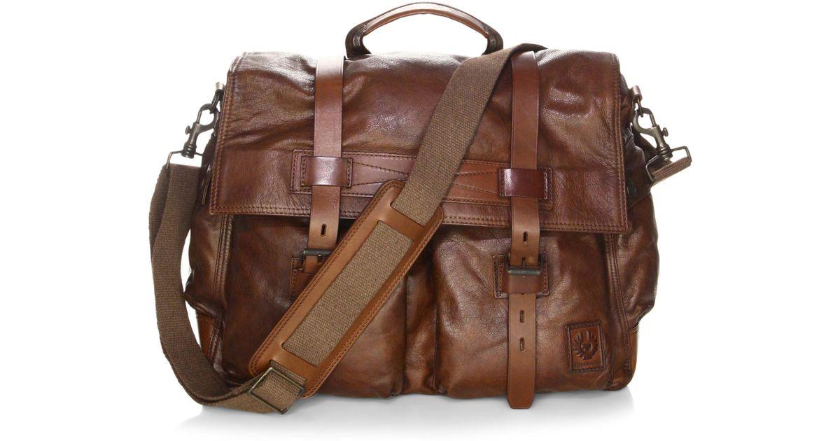 buy cheap shop super popular Belstaff Colonial Messenger Shoulder Bag | hobbiesxstyle