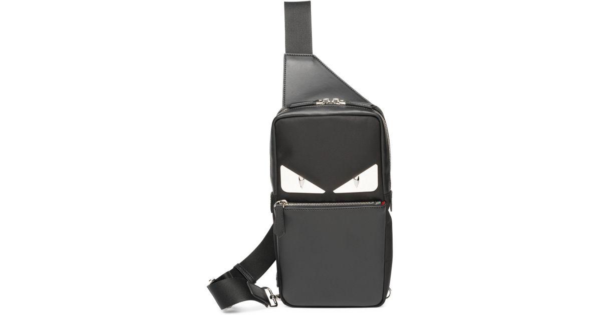 717592057724 Lyst - Fendi Monster Crossbody Bag in Black for Men