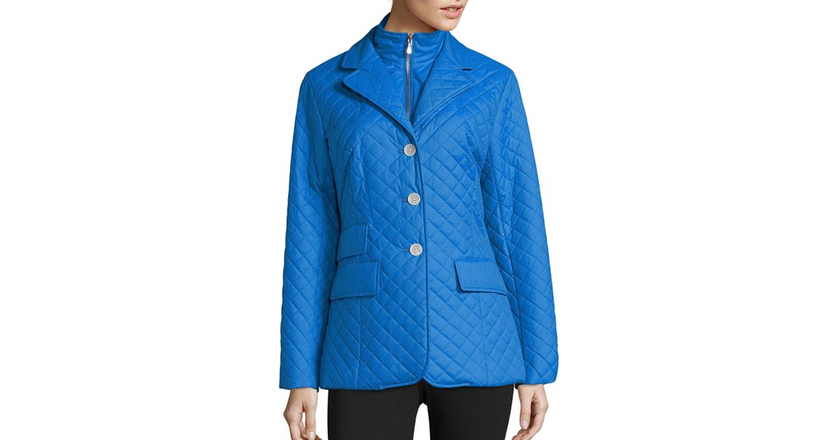 riding rowant larger in inset raj coat products quilt equetech navy jacket quilted long image slit grande rear
