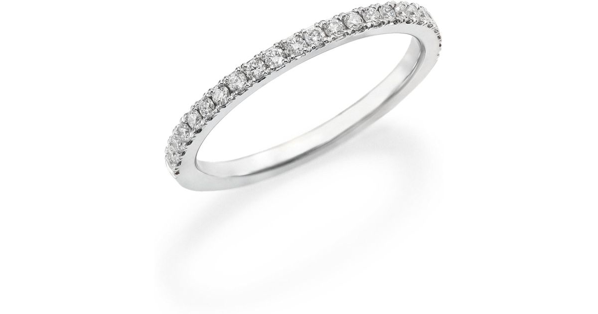 band products diamonds pave solid gold eternity classic micro artemer wedding ring diamond