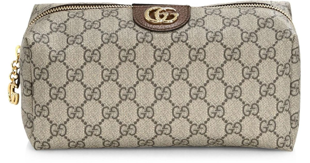 16738f514d0 Lyst - Gucci Ophidia Monogram Pouch