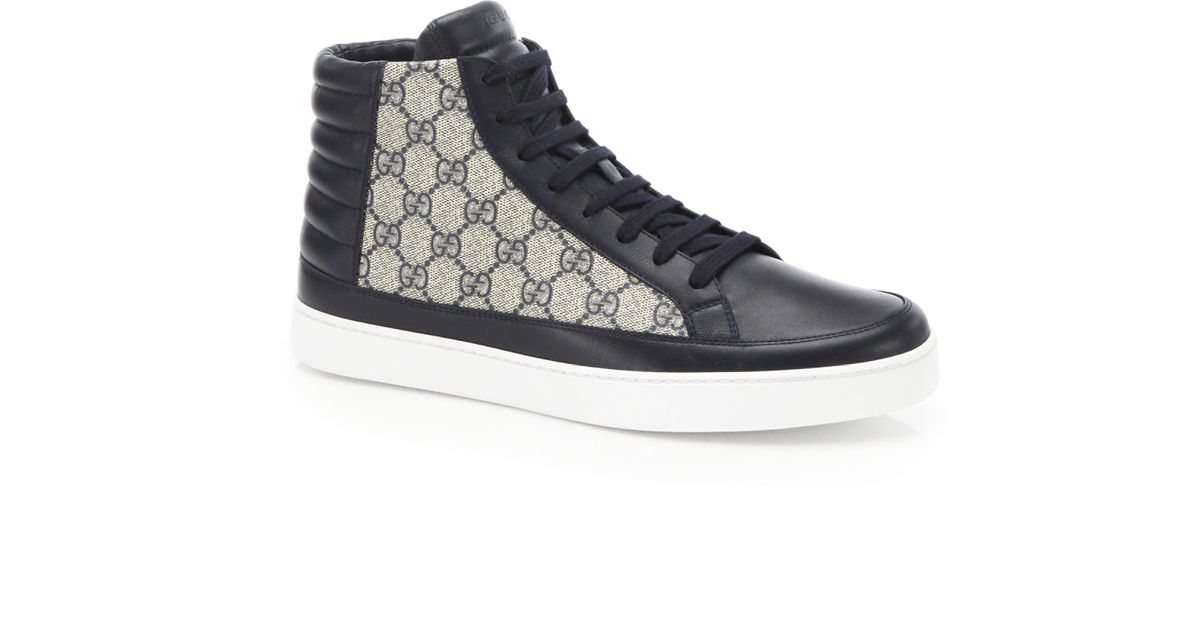 gucci supreme shoes high top