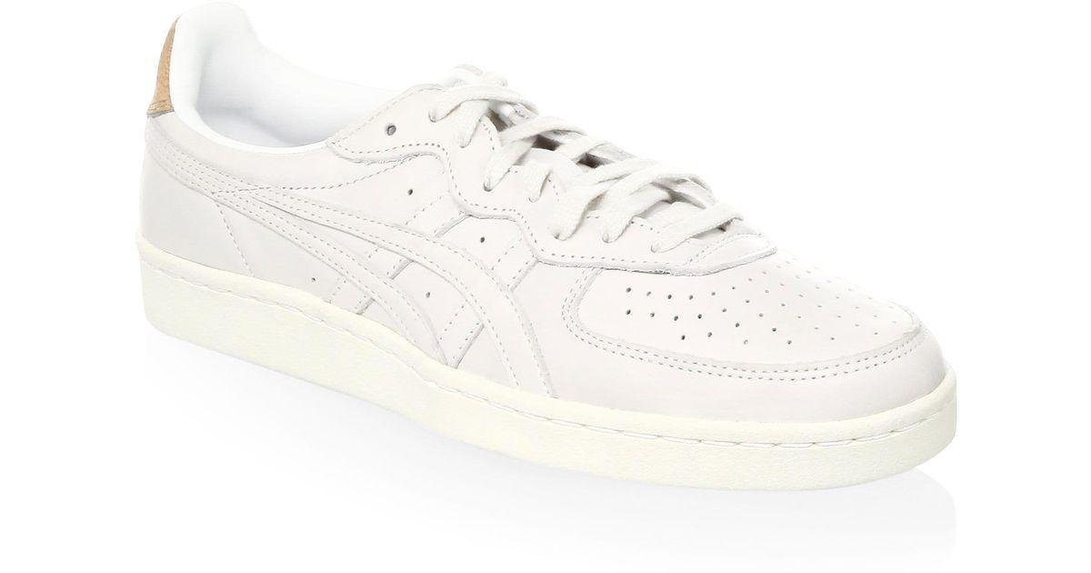 buy popular 9c79c d07c1 Onitsuka Tiger White Men's Gsm Low-top Leather Sneakers - Black for men