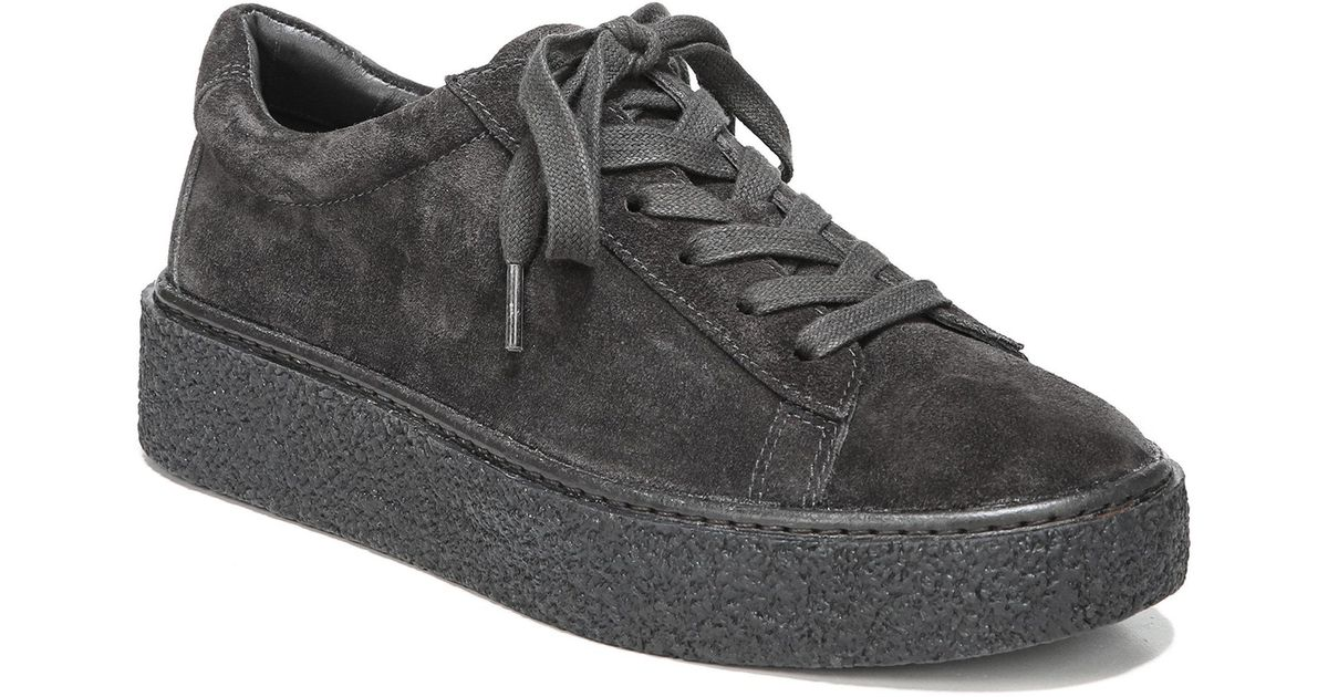 3b5327523b4 Vince Neela Suede Platform Sneakers in Gray for Men - Lyst