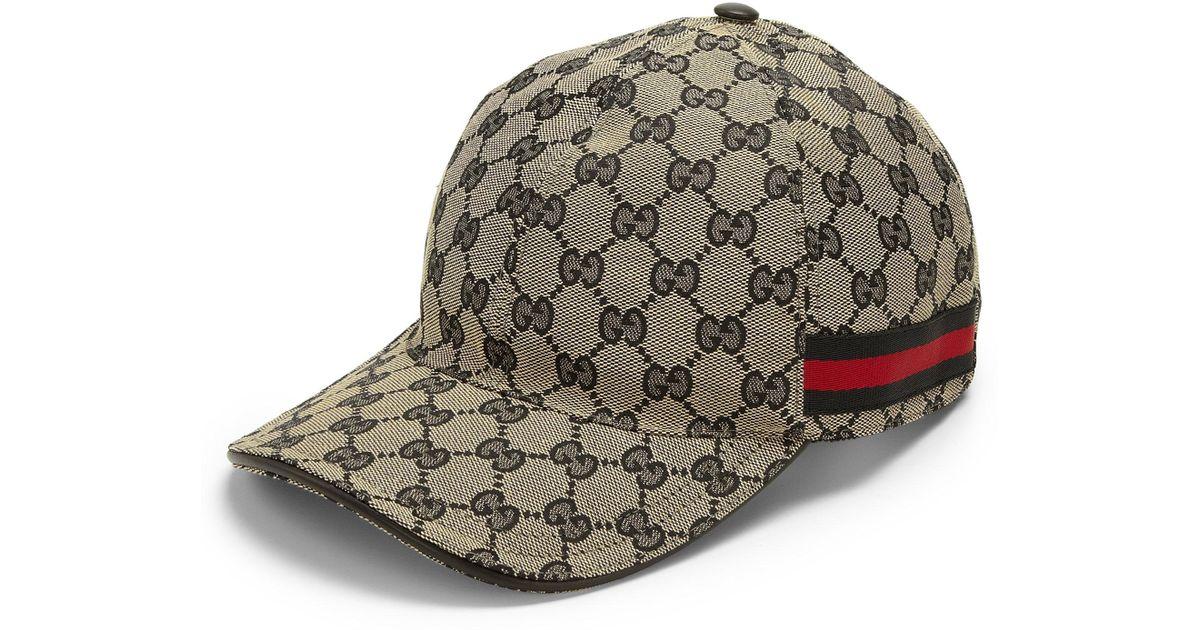 10df1a7c Gucci Brown Men's Original GG Baseball Hat for men