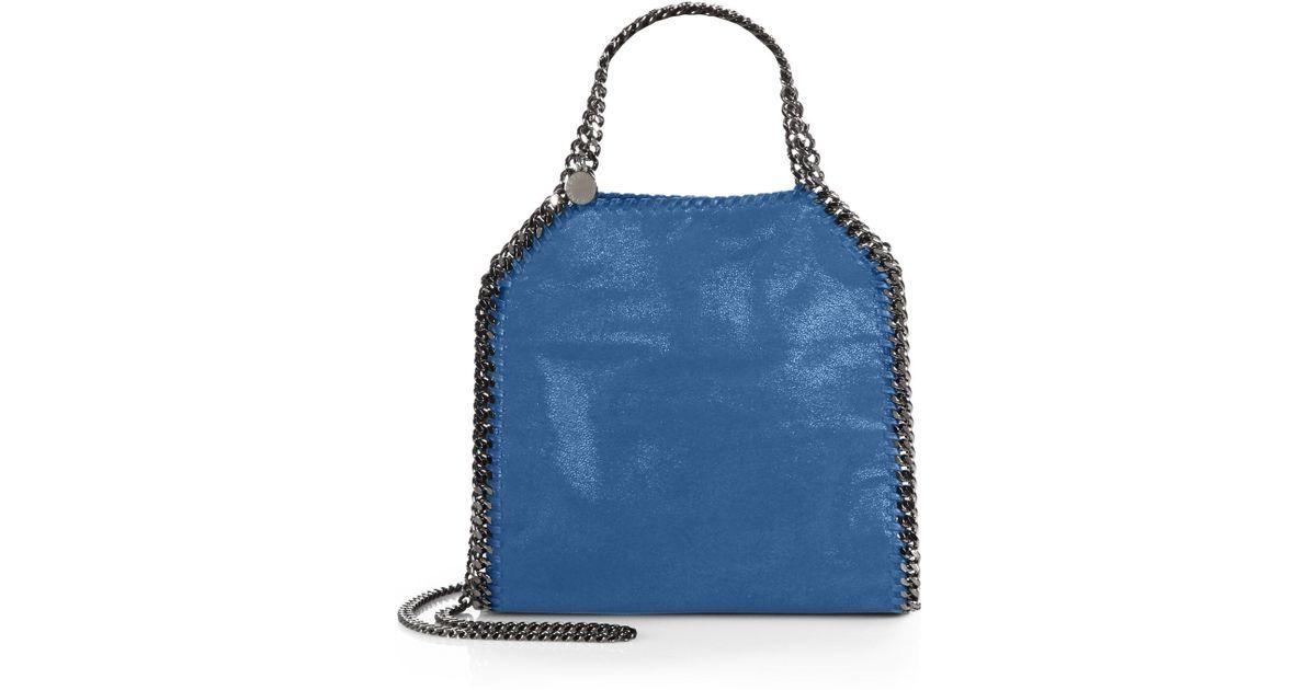 f0100f2f605c Lyst - Stella Mccartney Mini Baby Bella Shoulder Bag in Blue