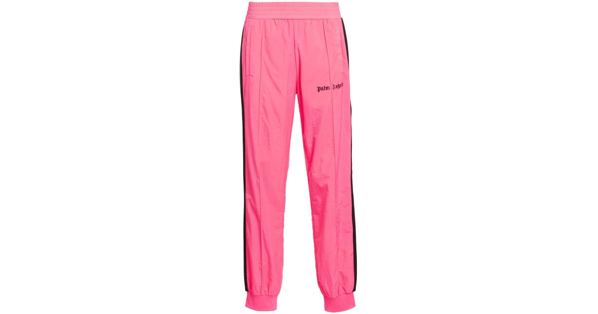 d16ef088 Palm Angels Men's Loose-fit Track Pants - Light Grey in Pink for Men - Lyst