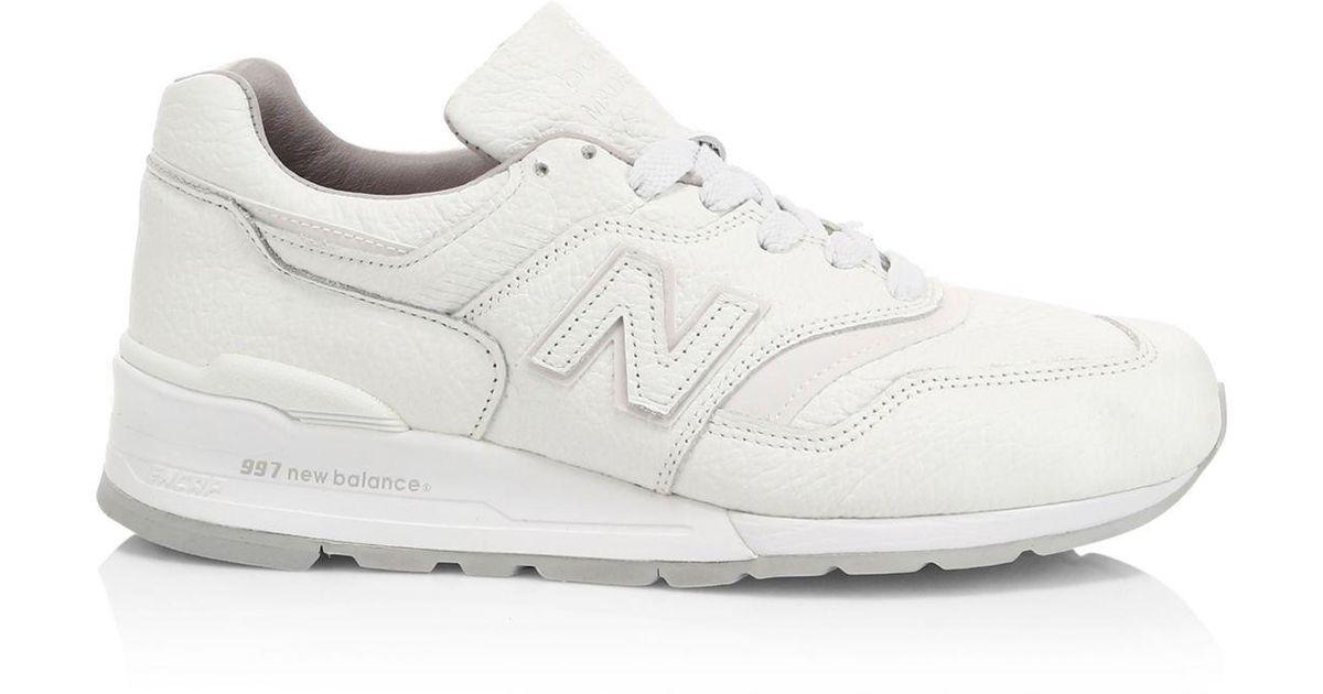 997 new balance white