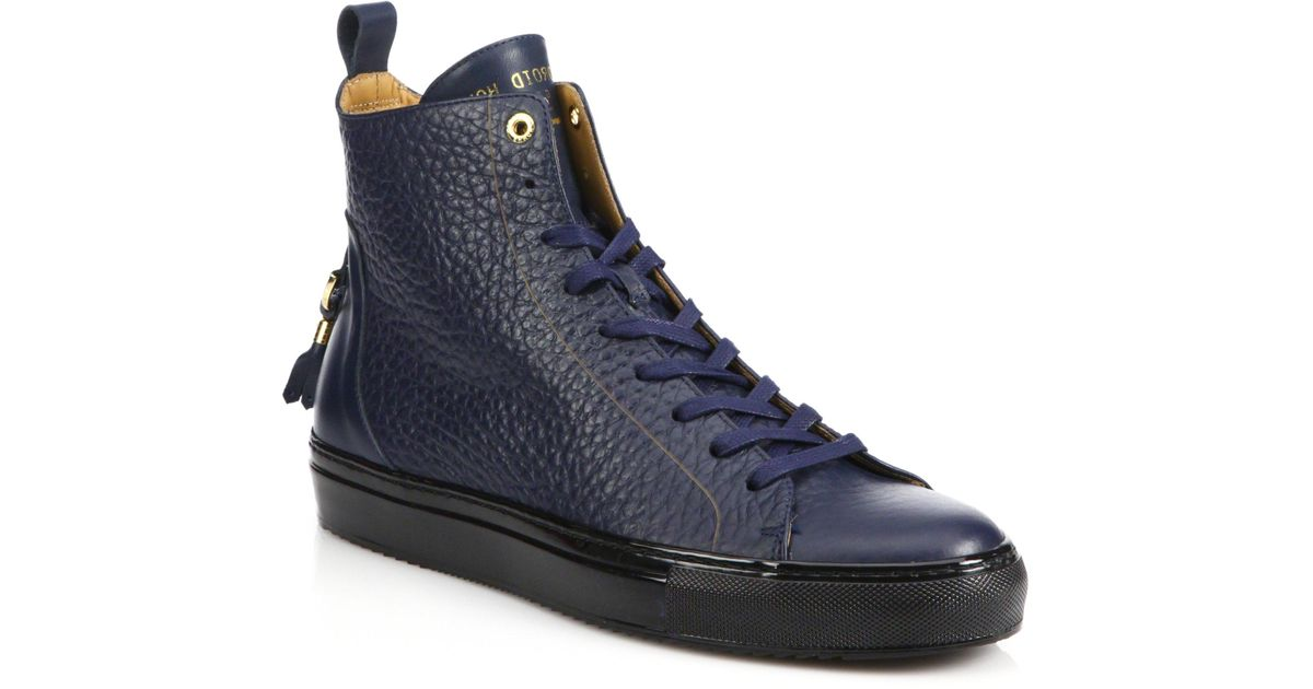Android Homme Alfa High-top Leather