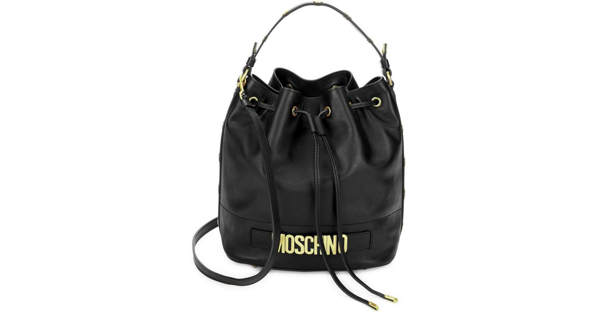 c891920bba39 Black Drawstring Leather Handbag - Best Handbag In 2018