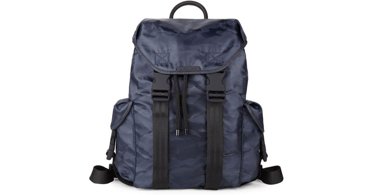 e7efedee9c7 Lyst - Kendall + Kylie Large Jordyn Camo Nylon Backpack in Blue for Men