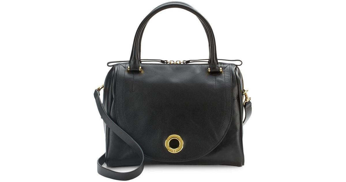 bf7a013880 Lyst - Halston Syrah Hobo Handbag in Black