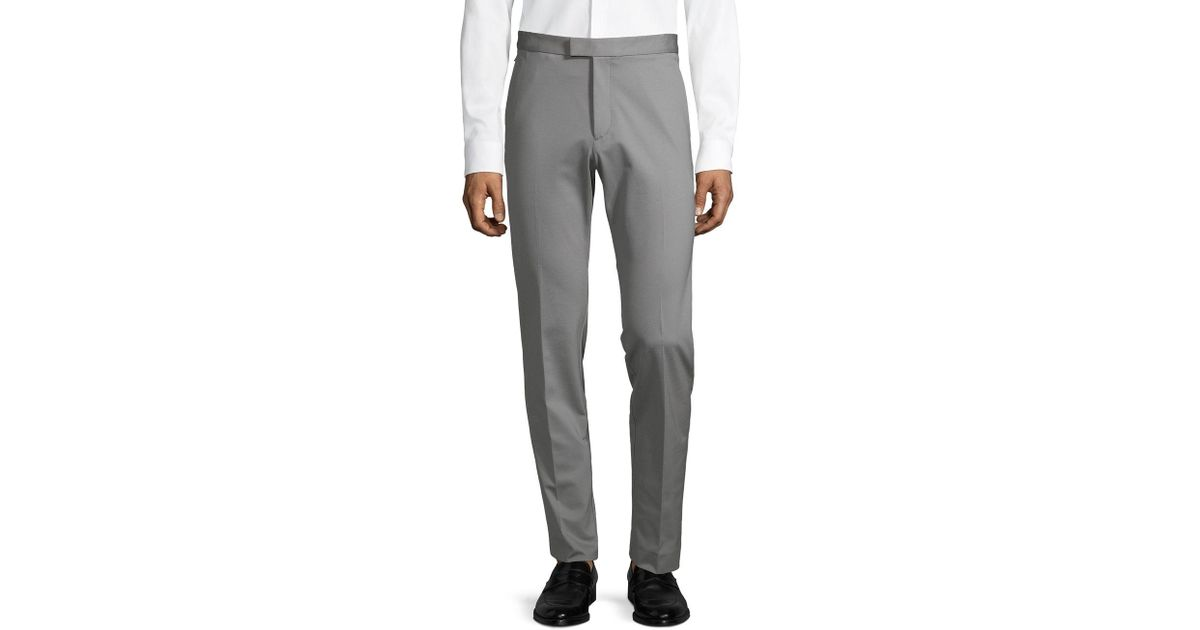 381547f7e15 Theory Semi Tech Pants in Gray for Men - Lyst