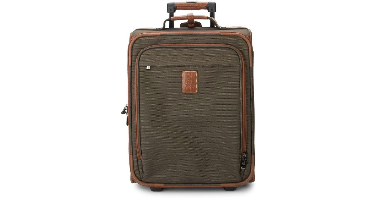 Longchamp Two-wheel Leather Luggage in Green for Men - Lyst 9bb00e46dc
