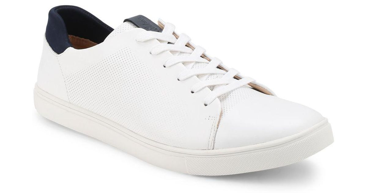 7f59df3dfb530 Lyst - Sam Edelman Tyson Lace-up Leather Sneakers in White for Men