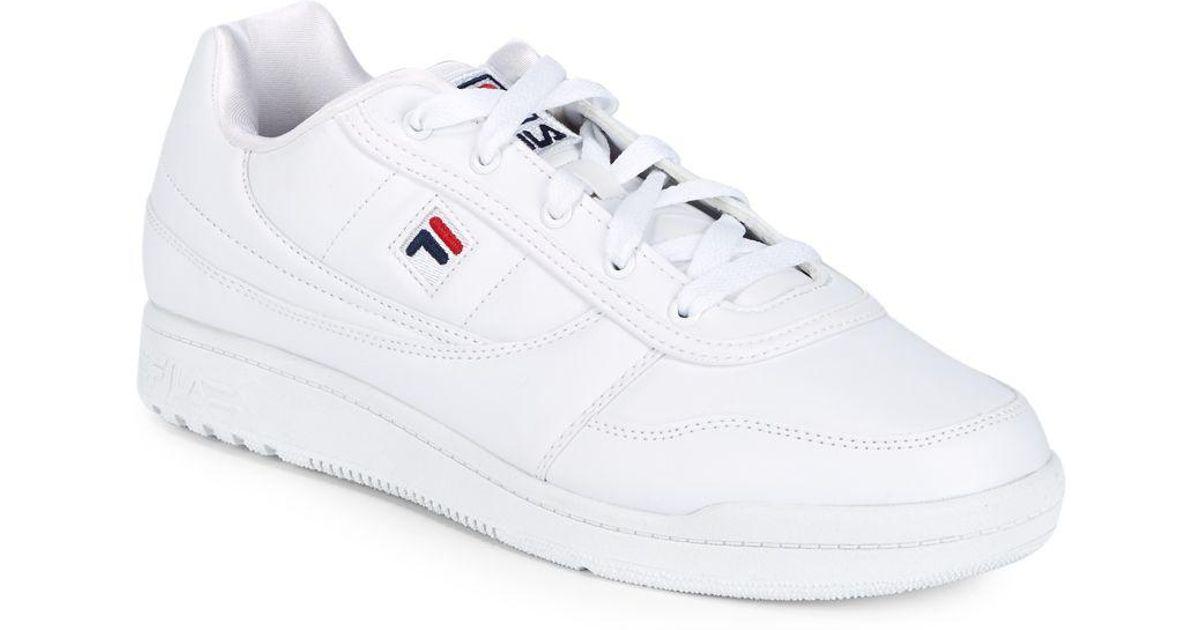 Fila Round Toe Low-top Sneakers in
