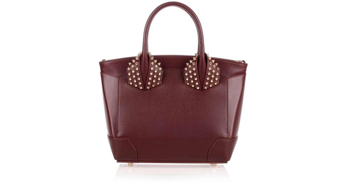 26476e008da Christian Louboutin Multicolor Eloise Small Bordeaux Leather Bag Us