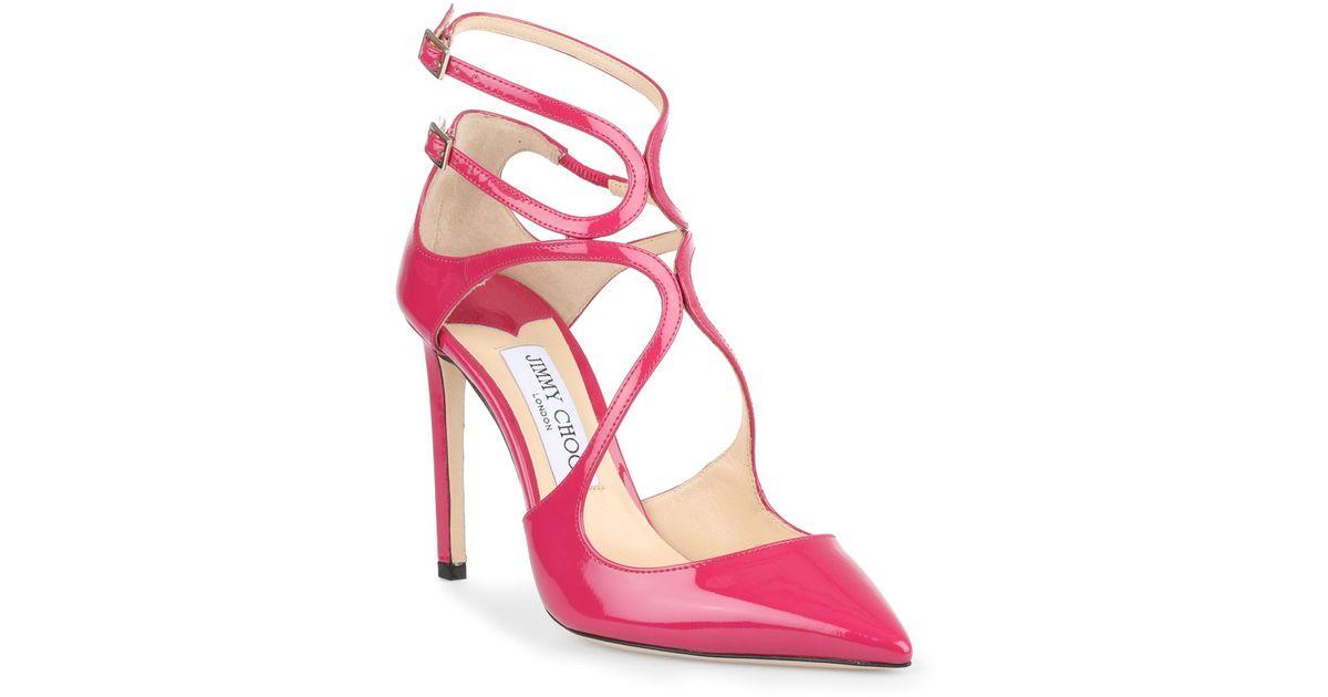 Cerise Pink Court Shoes