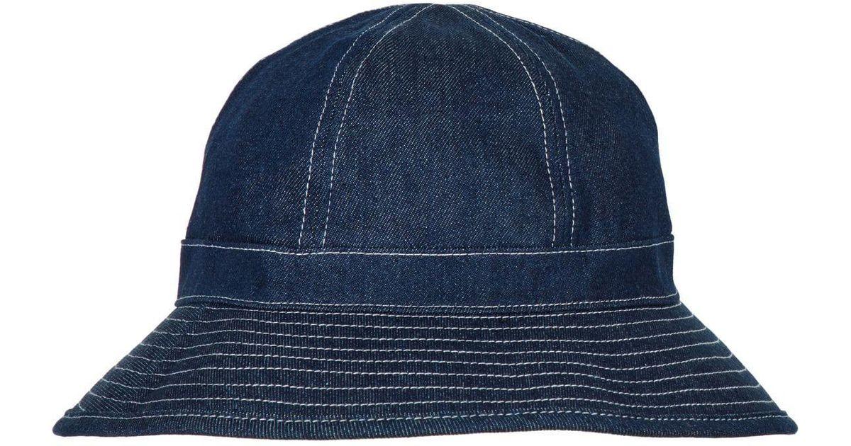 Lyst - Scotch   Soda Denim Bucket Hat in Blue for Men 6c313af0c4d