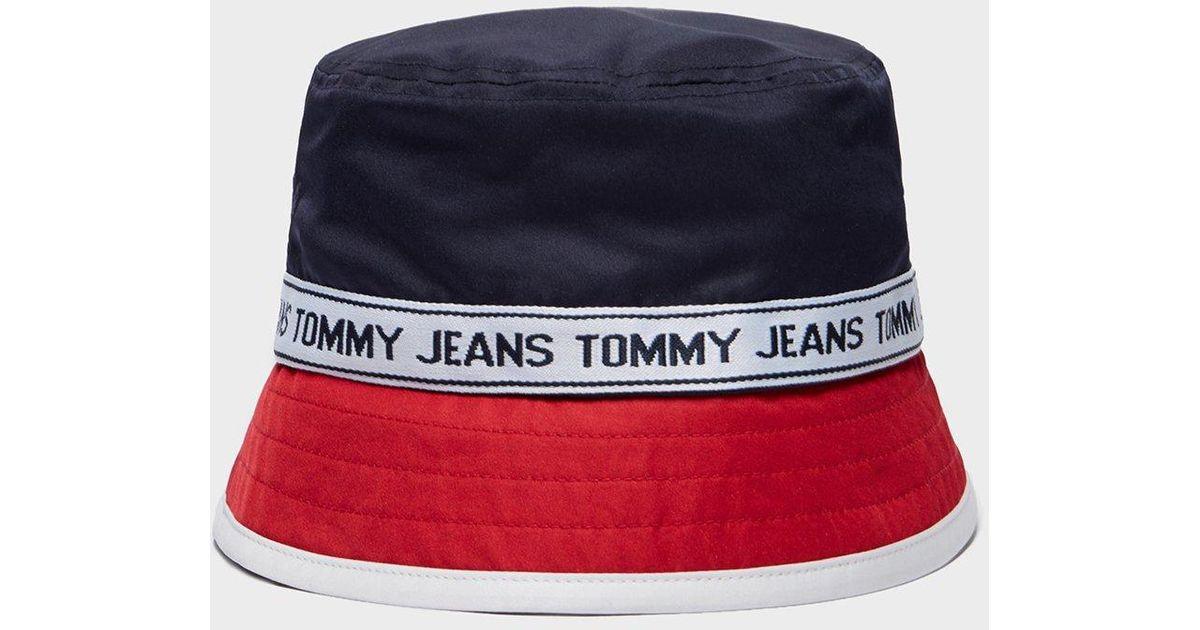 Tommy Hilfiger Tape Bucket Hat - Online Exclusive for Men - Lyst 6ca60ef74e6