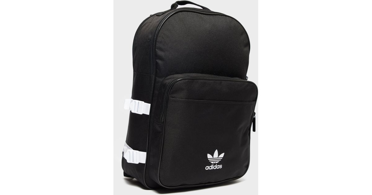 Lyst - adidas Originals Essential Backpack in Black for Men 683c8bd177