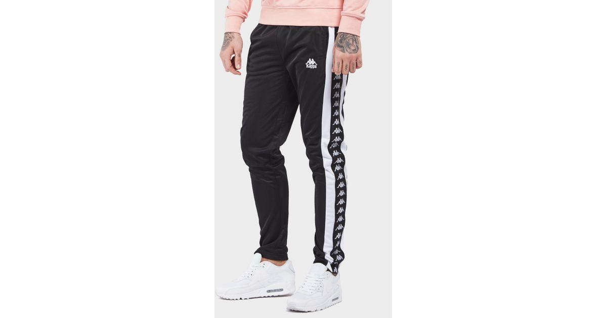 e69b46eb Kappa Black Authentic Luis Track Pants for men