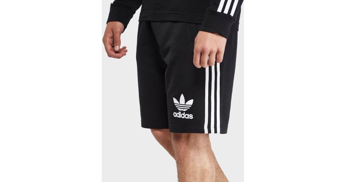 presente Delicioso Rebaño  adidas Originals California Fleece Shorts in Black for Men - Lyst