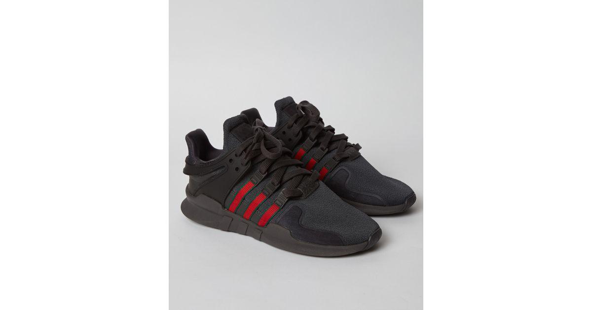 best service 9e750 1d199 Adidas Black Eqt Support Adv