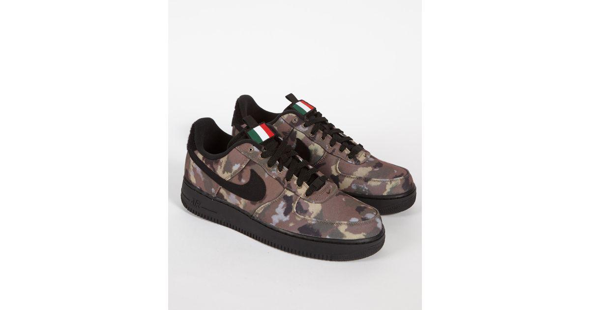 nike air force 1 07 sneaker low camo
