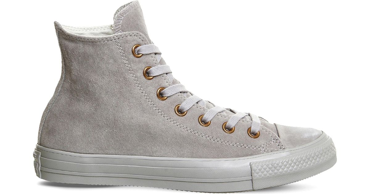 Converse All Star Hi Suede Trainers in