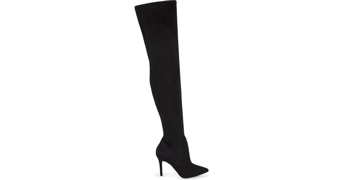 aldo black knee high boots \u003e Up to 66
