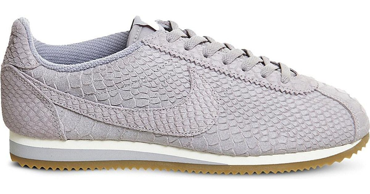 best cheap a95cf eb8f5 Nike Gray Cortez Classic Leather Trainers for men