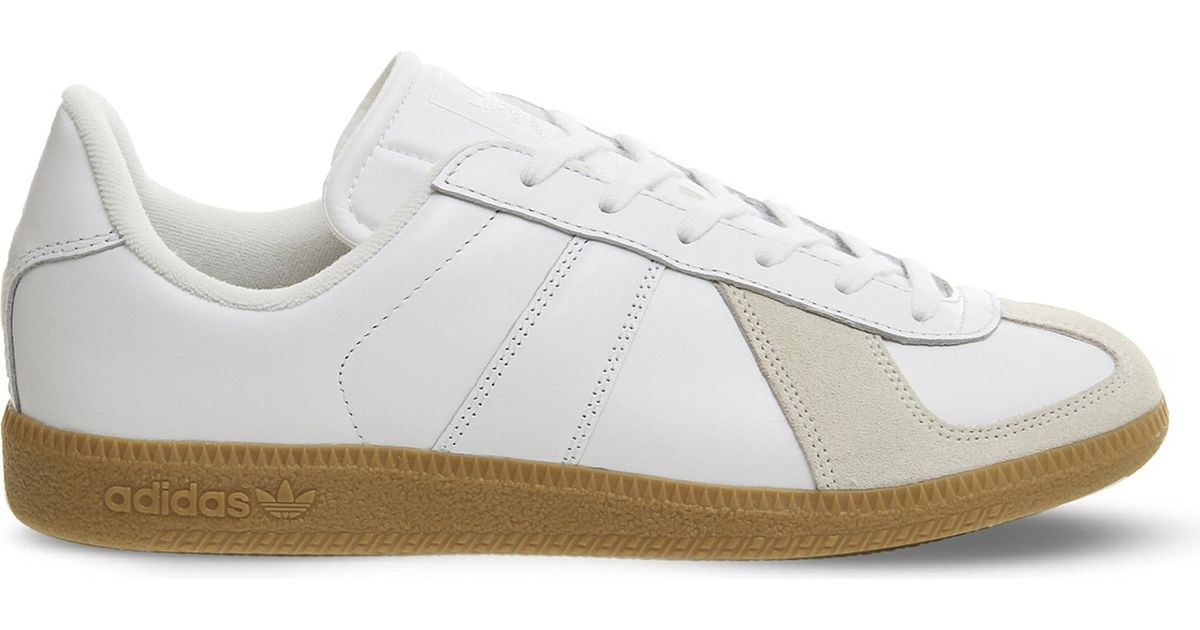 adidas Leather Bw Army Trainers in