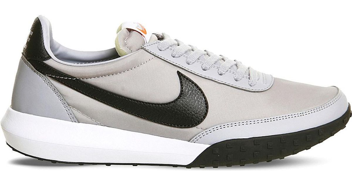 5561541cdb63 Nike Roshe Waffle Racer Trainers in Gray for Men - Lyst