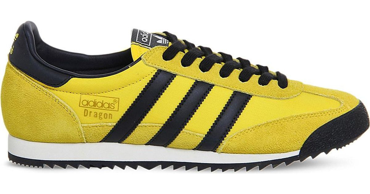 271d187d67 Adidas Originals Yellow Dragon Vintage Trainers for men