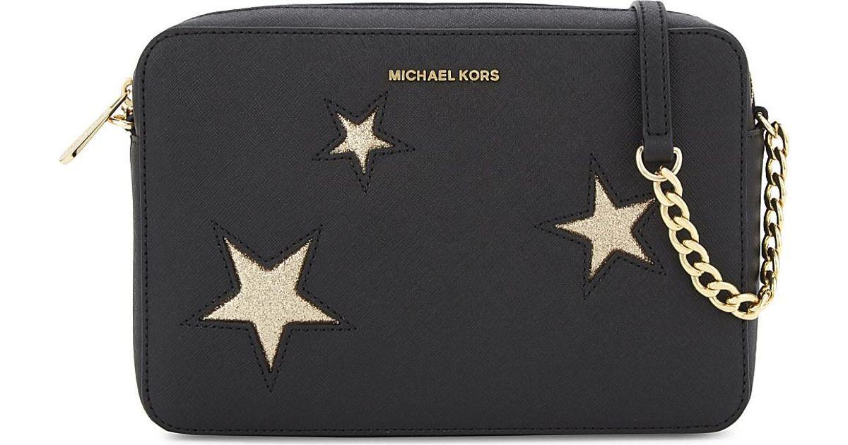 Michael Kors Purses Black And Gold
