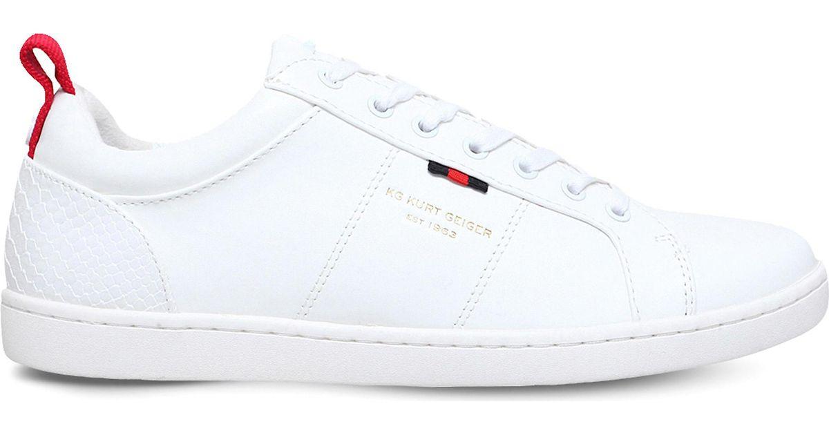 kurt geiger earl trainers white ebay